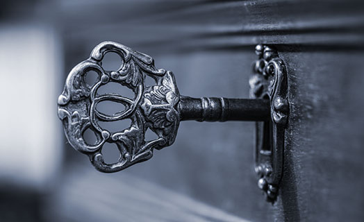Alter Schubladenschlüssel